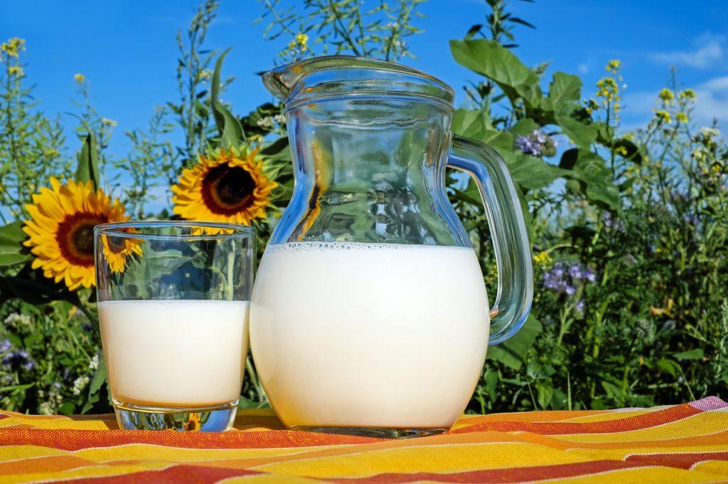 Низко калорийное молоко