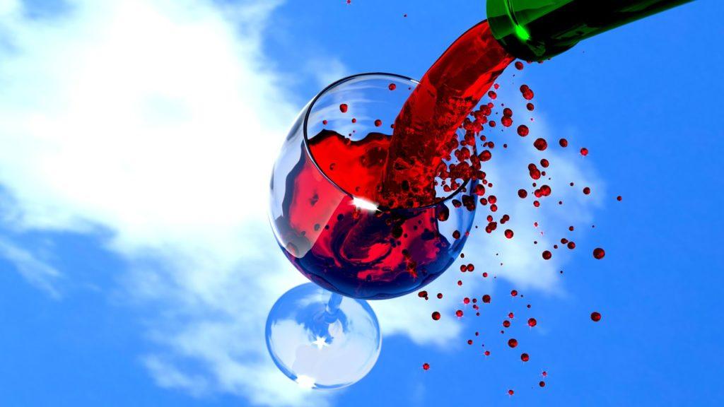 Красное вино в меру полезно для здоровья