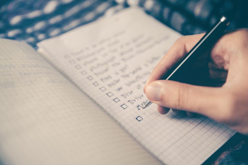 Список сфер и целей